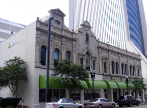 Old and new in downtown Jax