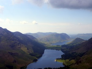 Buttermere from Fleetwith Pike 31st May 2008