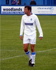 Torpey, Farsley's veteran forward