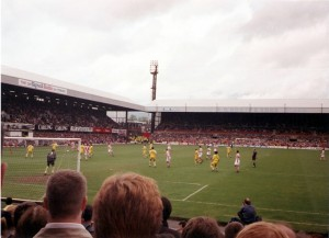 Stoke freekick v WBA 4th May 1997