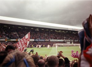 Stoke score the winner against WBA 4th May 1997