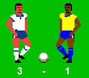 Bolton 3 Stoke 1 in C64 style