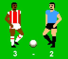 Stoke v Villa C64 Style!