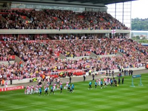 Stoke v Villa and the teams are out
