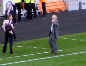 Alan Hudson at half time
