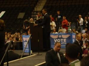 Obama in Jacksonville 3rd Nov