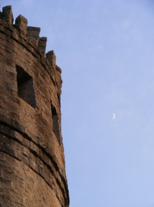 Moon at Castle Otttis