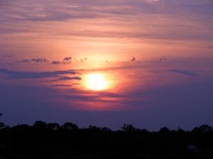St Augustine sunset