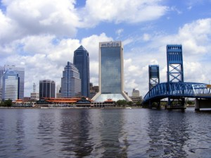 Downtown Jax from Maritime Museum