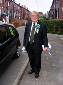 David Blackburn Green Party PPC Leeds West