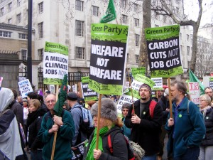 Green Party Protesters